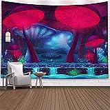 Fantasía seta castillo tapiz colgante de pared tapiz celestial hippie fondo tela manta tela colgante A7 180x200cm