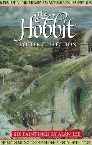 The Hobbit Poster Collection: Six Paintings by Alan Lee