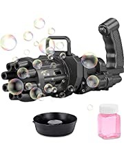 Gatling bubble machine, children's soap bubble machine, summer machine outdoor game toys (no bubble water)