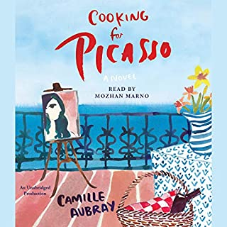 Cooking for Picasso audiobook cover art