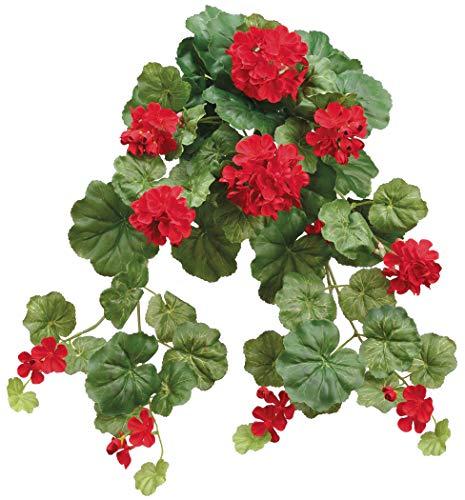 Allstate Künstliche Geranien, 35,6 cm, Rot