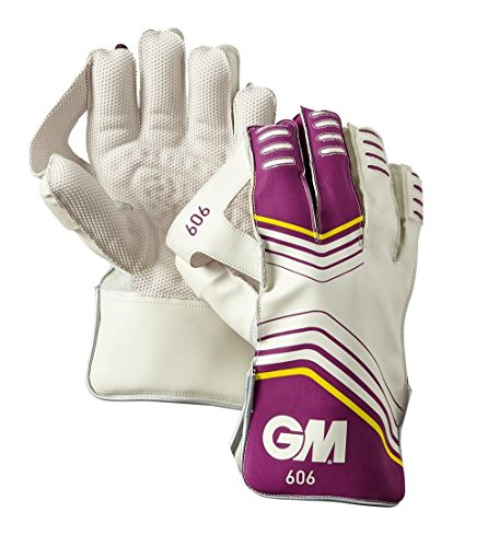 GM Gunn and Moore Herren Handschuhe für Wicketkeeper Handschuhe 606–violett