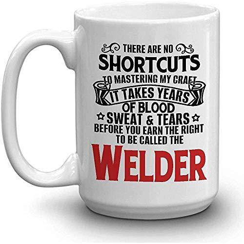 WELDER Coffee Mug - SUDADERA DE SANGRE LÁGRIMAS GANADAS SOLDADURA