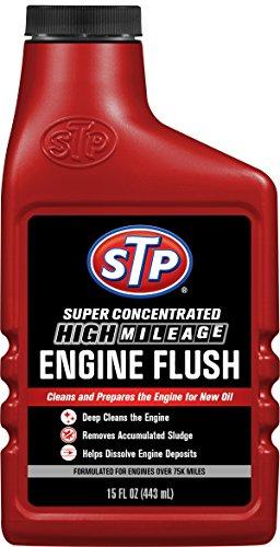 STP High Mileage Engine Flush Formula, Oil Cleaning for Cars & Truck, Bottles, 15 Fl Oz, 18566