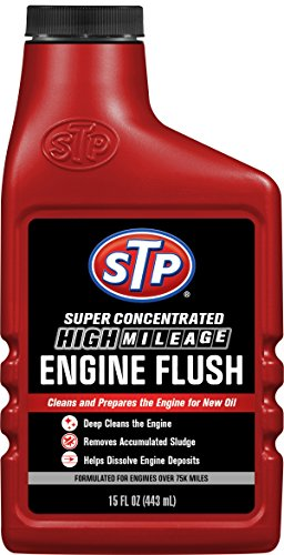 STP High Mileage Engine Flush Formula, Oil Cleaning for Cars & Truck, Bottles, 15 Fl Oz, 18566