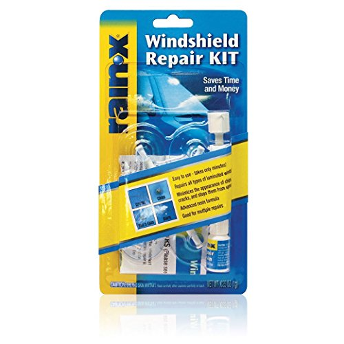 RainX Fix a Windshield Do it Yourself Windshield Repair Kit, for Chips, Cracks,...