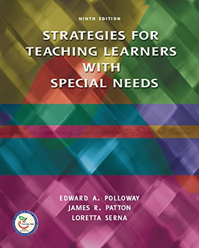 Strategies for Teaching Learners with Special Needs (9th Edition)