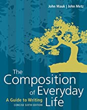 Bundle: The Composition of Everyday Life, Concise, Loose-Leaf Version, 6th + MindTap English, 1 term (6 months) Printed Access Card