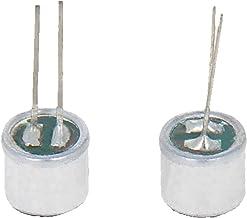 میکروفون وانت میکروفن Fielect 10Pcs 6050P-54DB 6mm x 5mm MIC کندانسور استوانه ای با پین