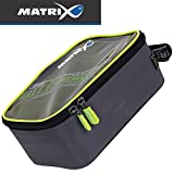 Fox Matrix Pro Accessory hardcase Bag - Angelbox zum Stippangeln & Feederfischen, Tacklebox für...