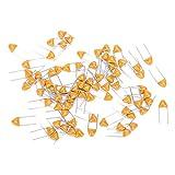 Condensatore Monolitico 1000Pcs, Condensatore Ceramico in linea 100PF, Condensatore DC50V Condensatore 5,08mm Deviazione 10%