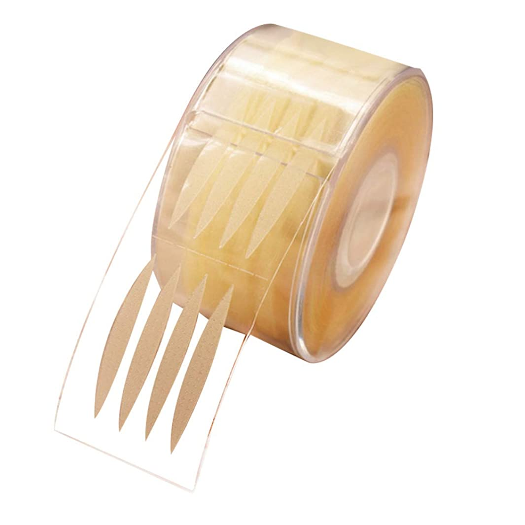 大陸ジレンマプロジェクターSunite まつ毛テープ 目に見えない 300組 繊維 二重まぶた レース メッシュ 粘着性なし ナチュラル 自然 (F)