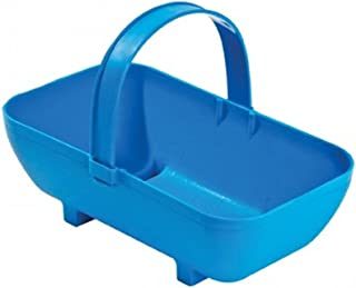 Tierra Garden GP43BLU Small Trug Recycled Plastic Planter, Blue