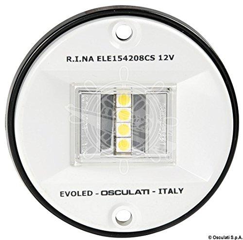 OSCULATI 11.039.14 Luci di Via EVOLED con Sorgente Luminosa a LED a Basso consumo, Bianco, 135