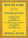 AGUADO - Album Vol.1: Seleccion de Piezas del Metodo para Guitarra (Scheit)