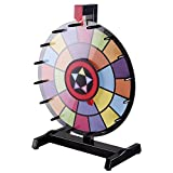 WinSpin 15' Tabletop Editable Color Prize Wheel 2 Circles Spinning Review Game