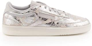 Reebok Luxury Fashion Womens BS6786 Silver Sneakers | Season Outlet