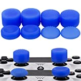 MXRC Thumb Grip Thumbstick Joystick Cap 4 Styles All 8 Units FPS Professional Sets Pack for PS2, PS3, PS4, Xbox 360,Controller Blue