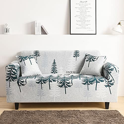 Funda de sofá Gris de Alta Elasticidad, Funda de sofá de Esquina Universal Ultrafina, Funda de sofá Dividida, Funda de sofá de Sala de Estar A20 de 4 plazas