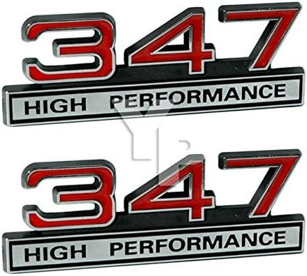 347 Arlington Mall 5.7 Liter Engine High Performance Red - Emblems Chrome in Bargain sale