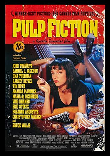 Messaggio Pulp Fiction Film Muro Poster Art