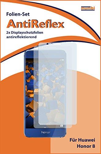 mumbi Schutzfolie kompatibel mit Huawei Honor 8 Folie matt, Displayschutzfolie (2X) - 2