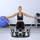 Rudergeräte Concept 2 Modell d Home Mute Taillentraining Sportgerät (Color : Black, Size : 114 * 58 * 68cm) - 3