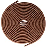 Brown Shoelaces [2 Pairs] 100% Cotton Made in...