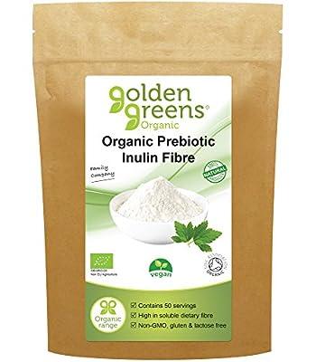 Golden Greens Organic Prebiotic Inulin Fibre 250 Grams