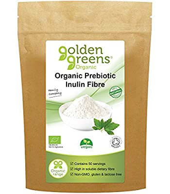 Greens Organic- Organic Inulin - Vegan 250g (Pack of 2)