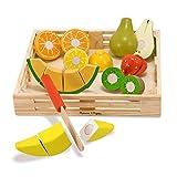 Melissa & Doug Cutting Fruit Set - The Original (Wooden Play Food Kids...