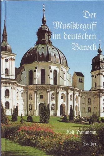 Der Musikbegriff im deutschen Barock