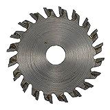 プロクソン(PROXXON) チップソウ20山50mm 1枚 【チップアサリ幅1.1mm】 木材・アルミ・樹脂の切断 No.27017
