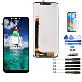 LCD for BLU Vivo XL4 V0350WW LCD Touch Screen Digitizer Assembly Display Replacement with Tools(Black)
