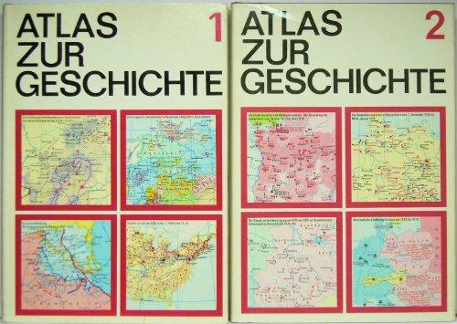 Atlas zur Geschichte in zwei Bänden. Band 1. Von den Anfängen der menschlichen Gesellschaft bis zum Vorabend der Großen Sozialistischen Oktoberrevolution 1917