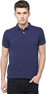 BASICS Muscle Fit Patriot Blue Polo T.Shirt