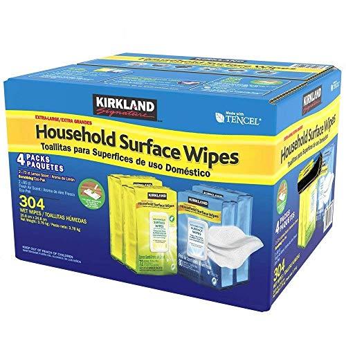 3 toallitas para superficies domésticas, paquete de 304