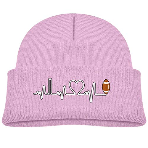 tyutrir Rugby Ball Heartbeat Baby Infant Toddler Winter Warm Beanie Hat Cute Children's Thick Stretchy Cap Perfect 25837
