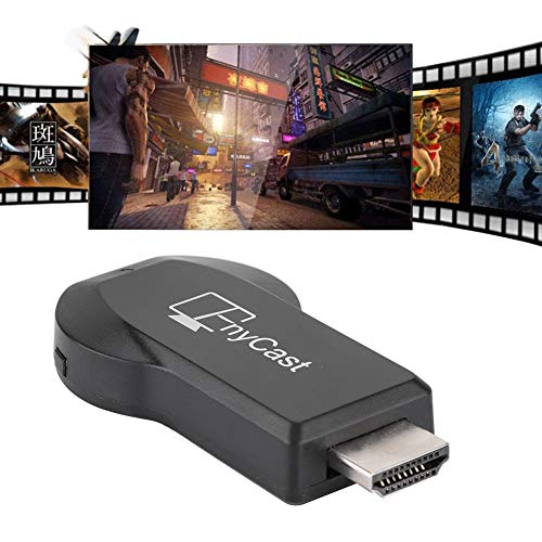 Wendry Wireless Same Screen,Wireless Dongle TV Projector Display HDMI WiFi Receiver for Android Netflix,High Resolution,1080P Full HD HDMI Output,Plug and Play