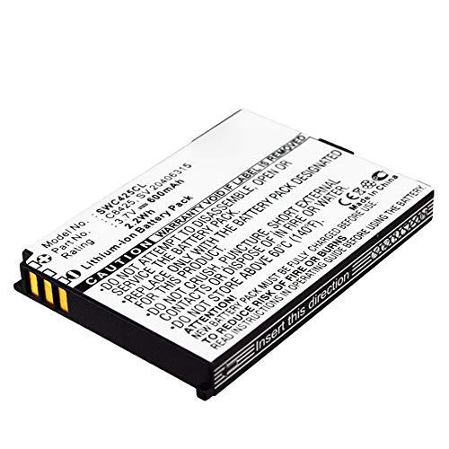 subtel® Qualitäts Akku kompatibel mit Swissvoice eSense, eSense Color, eSense Color E, SV 20406288 (600mAh) C8425,SV 20406315 Ersatzakku Batterie