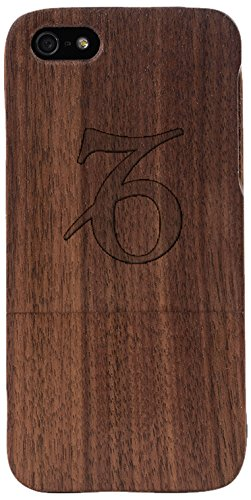 Capricorn Horoscope Woodero Real Wood Case for Apple iPhone 5/5S