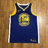 製 WARRIORS Stephen Curry レプリカ ユニフォーム 青 黄色 白 Lサイズ SWINGMAN ウォリアーズ ステフ NBA