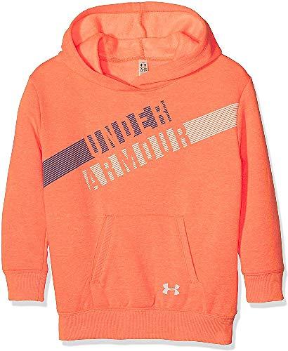 UNDAS #Under Armour Under Armour Mädchen Favorite Fleece Hoody Oberteil, London Orange Light, YXS