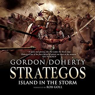Island in the Storm audiobook cover art