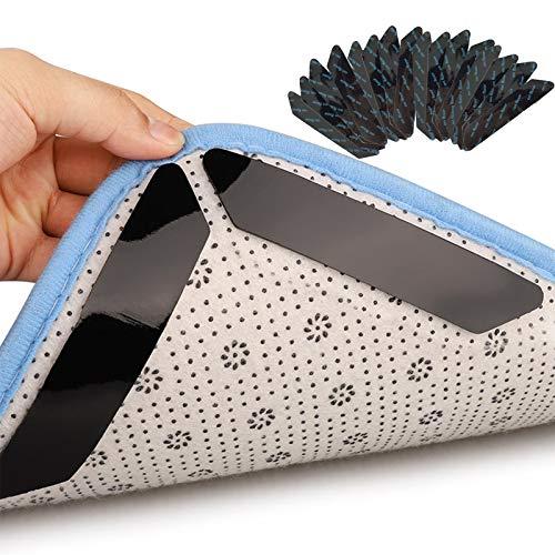 Lafi 16 Stück Teppich Antirutschunterlage Antirutschmatte für Teppich Parkett Fliesenböden Teppich Rutsch Stop