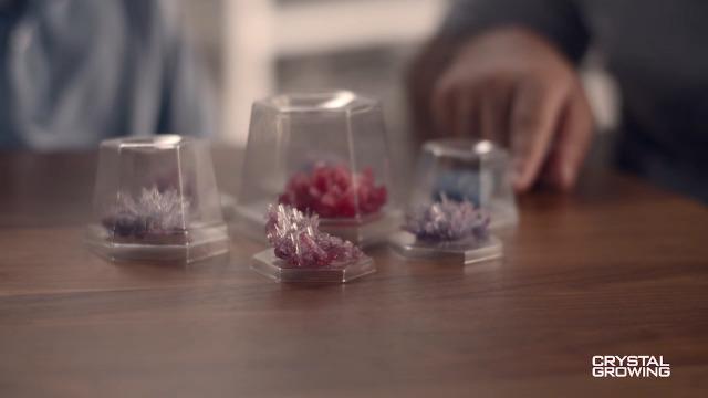 4M 5557 Crystal Growing Science Experimental Kit – Easy DIY Stem Toys Lab Experiment Specimens