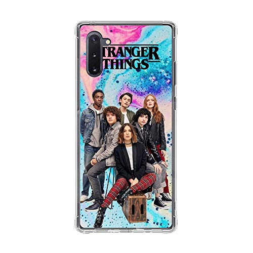 A-Legend Ultra Thin Coque Lightweight Anti-Skid Clear Soft Flexible Gel TPU Case Cover For Samsung Galaxy Note 10-Stranger-Things Eleven Joyce 10
