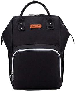 LIMING Bag Shoulder Bag Waterproof Large Capacity Handbag Bag Diaper Bag (Color : Red, Size : 45x28x21cm),Size Name:45x28x...