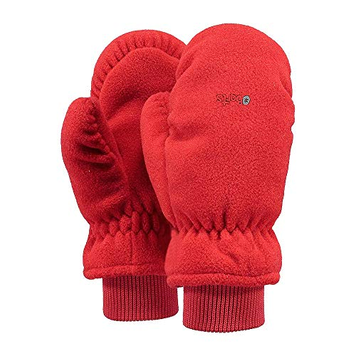 Barts Fleece Handschuhe Kids red size 2