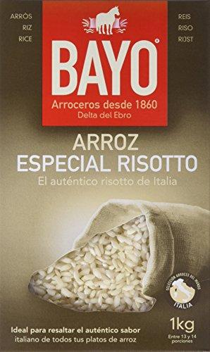 Bayo Arroz Arborio - Paquete de 10 x 1000 gr - Total: 10000 gr